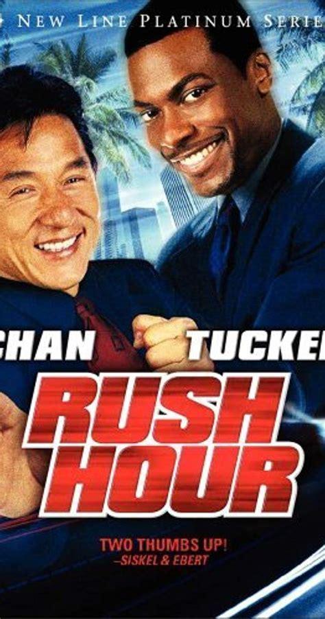 jackie chan rush hour 1 rush hour 1998 imdb