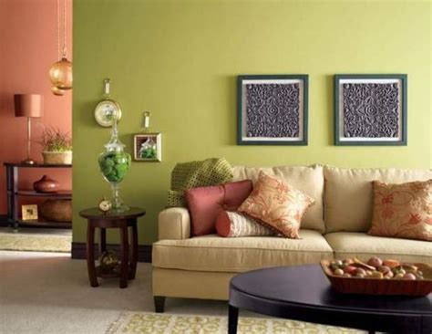 light warm color for small living room green livingroom
