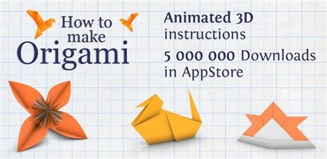 How To Make An Origami L - how to make origami app gratuite android