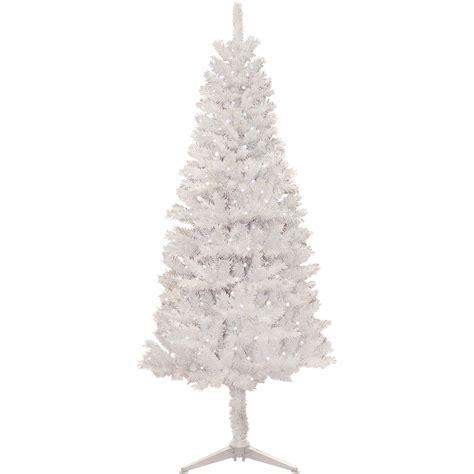 pre lit 4 5 x 24 quot salem pencil pine dura lit artificial