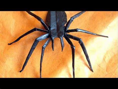 Easy Origami Spider - origami spider