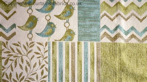 Patchwork Curtain Fabric - patchwork by bill beaumont textiles in aqua curtain fabric
