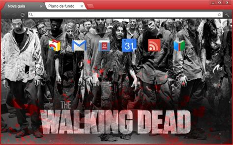 theme google chrome walking dead 4web geek temas the walking dead para google chrome