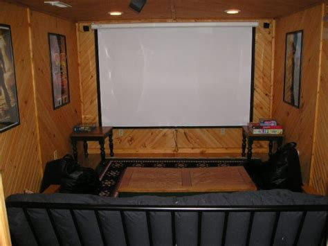 small theater room house ideas