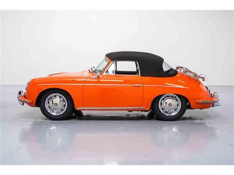 porsche 356 cabriolet 1965 porsche 356 c cabriolet for sale classiccars com