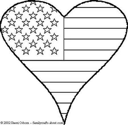 patriotic heart coloring page free veterans day clip art to color crafty confessions