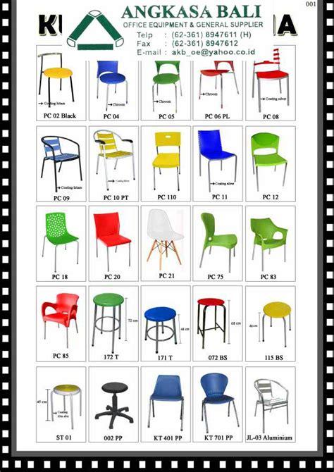 Kursi Plastik Di Makassar angkasa bali jual kursi kantor meja kerja furniture