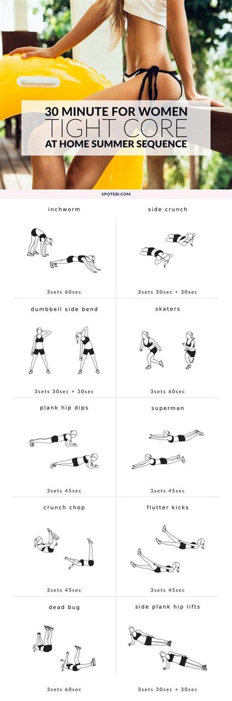 small waist summer workouts and for on