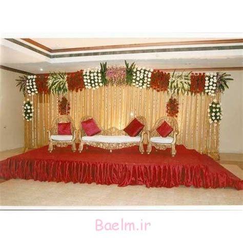 simple wedding stage decoration with flowers homemade تزیینات عروسی شیک ترین مدل های دیزاین جایگاه عروس و