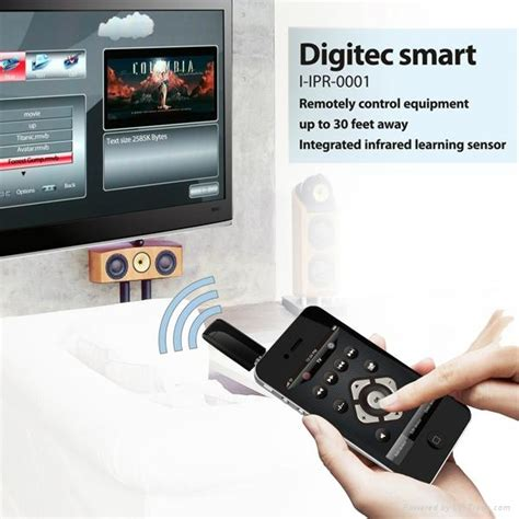 Digitec Not Smart 3049 universal remote for iphone ipod i ipr 0001 digitec smart china manufacturer