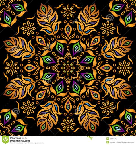 and black design decorative gold pattern royalty free stock images image