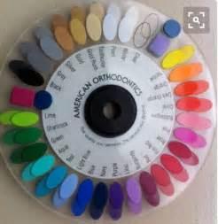 braces color selector quiz best 25 braces color wheel ideas on