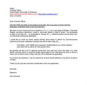 Invitation Letter For Visitor Visa Relative Sle Invitation Letter For Us Visa 9 Free Documents In Pdf Word