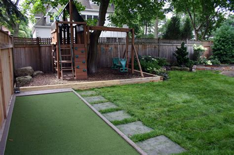 backyard picture urban or suburban landscaping projects in the multi use