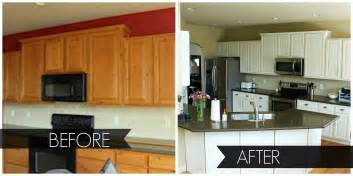 Before And After White Kitchen Cabinets Paint Kitchen Cabinets Before And After Desjar Interior