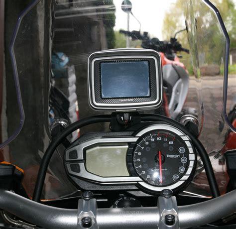 Navi Am Motorrad Montieren by Navi Halterung F 252 R Die Explorer Technik Tiger Explorer