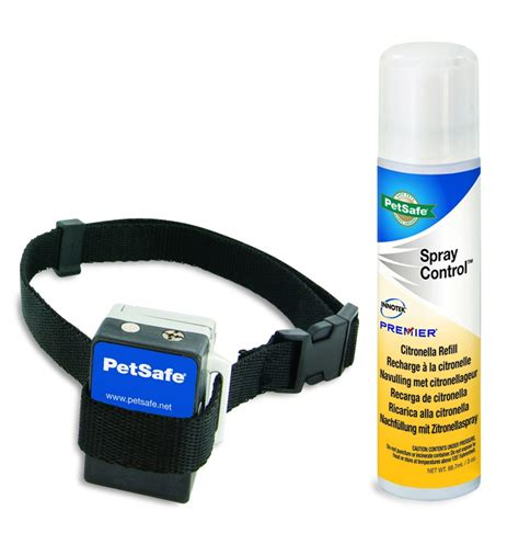 spray collar petsafe anti bark spray collar citronella from easy animal