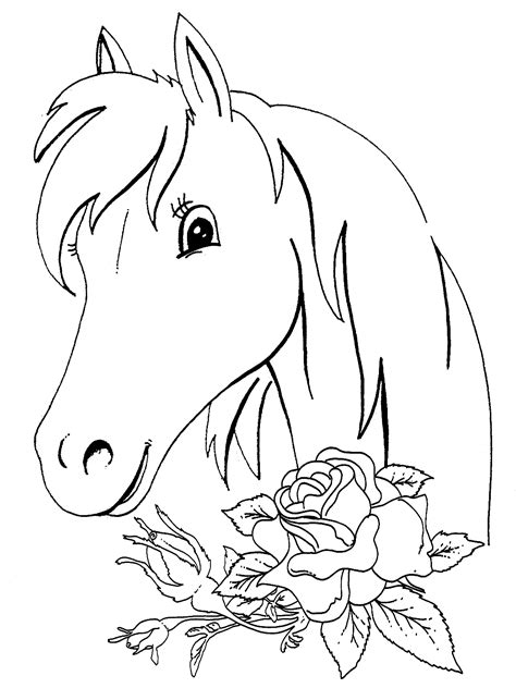 christmas horse coloring pages  coloring  kids