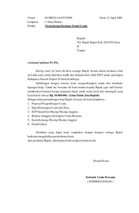 Contoh Notula Rapat Resmi by Contoh Surat Resmi Dengan Format Yang Baik Dan Benar