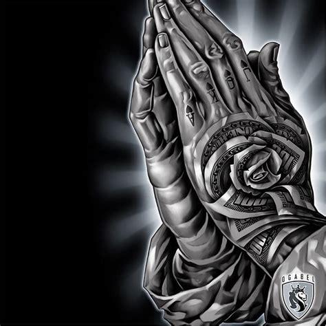 og abel tattoo designs praying by og abel ogabel chicano blackandgrey