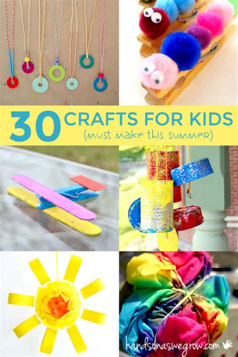 summer craft for 30 summer crafts for to make on as we grow
