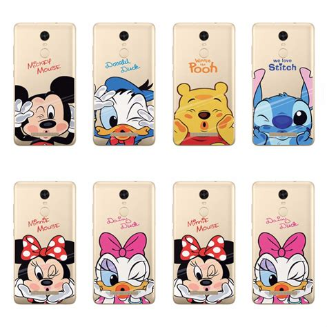 Xiaomi Redmi 4a Stitch soft tpu for xiaomi redmi 2 redmi2 mickey