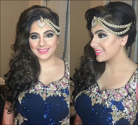 Bridal Hairstyles Side Curls by Indian Bridal Hairstyles The 16 Wedding Hairdo Pics