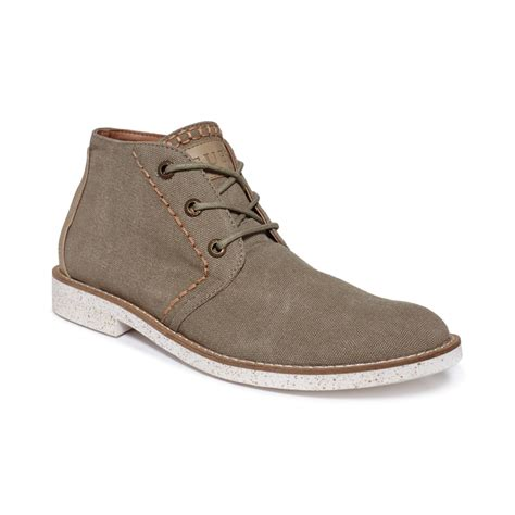chukka boots with guess vargo chukka boots in khaki for lyst