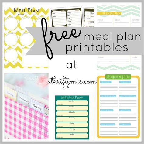 easy printable meal planner meal planning made easy modern mama