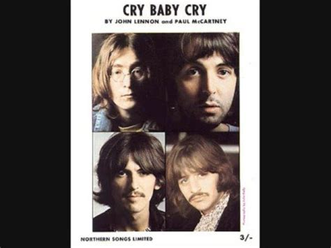 cry baby testo cry baby cry the beatles significato della canzone