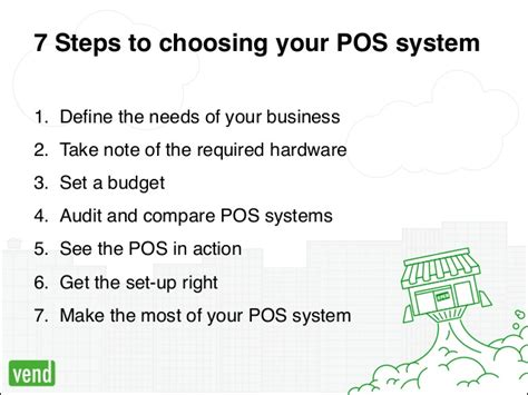 7 Steps To Finding The by 7 Easy Steps To Choose The Right Point Of Sale System For