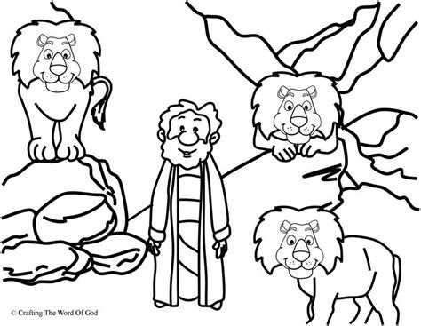 printable coloring pages daniel and the lions den printable pictures of the lions den coloring daniel in