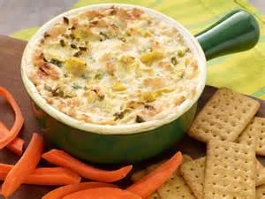 Three cheese hot artichoke dip recipe paula deen food network