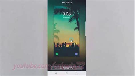 android nougat   change lock screen wallpaper