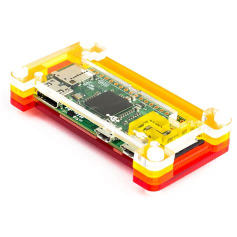 Termurah Raspberry Pi Zero W Include Cassing Led Minihdmi pibow zero for raspberry pi zero version 1 3 pimoroni