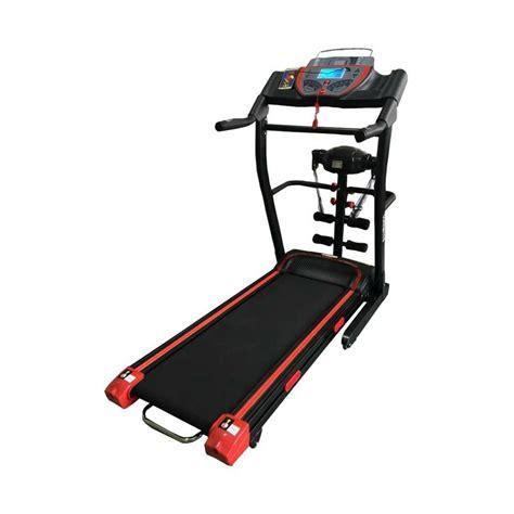 Treadmill Elektrik Hanatha 3 Fungsi Gt jual fitness hanatha tm175 treadmill elektrik 3 fungsi harga kualitas