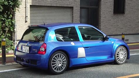 renault japan spotted it japan a renault clio v6 renault sport youtube