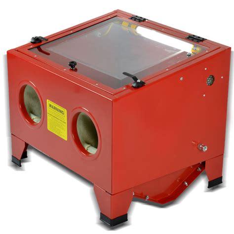 Sandblast Cabinet Parts by 25 Gal Bench Top Sand Blaster Cabinet Abrasive Air Sand
