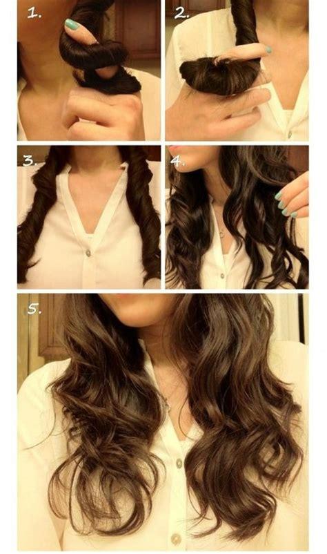 diy hairstyles curls curly diy diy curly hair hair image 637392 on favim com