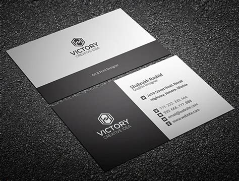 free advertising business card template free business cards psd templates print ready design