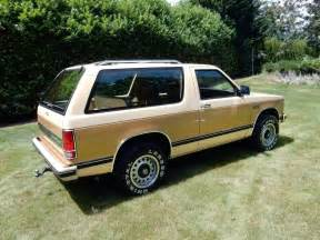 original with 23 844 1983 chevy s 10 blazer