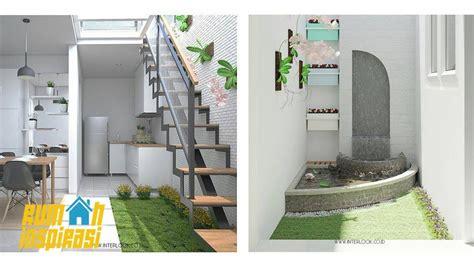 desain rumah minimalis taman ditengah rumah
