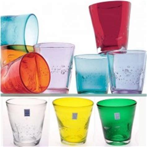 bicchieri da acqua colorati allegranzi