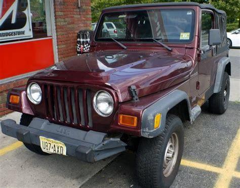 2001 Jeep Sport Parts Buy Used 2001 Jeep Wrangler Se Sport Utility 2 Door 2 5l