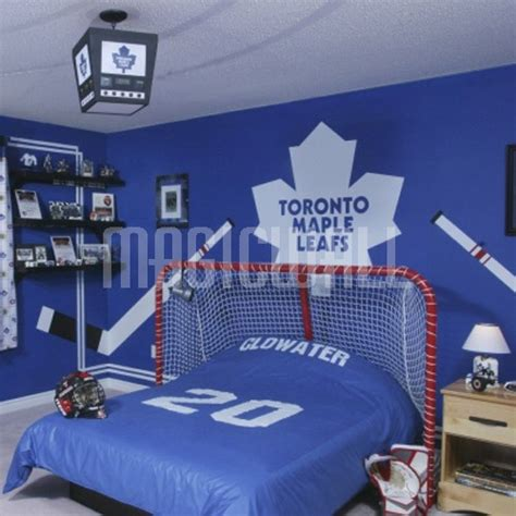 Hockey Wall Stickers wall decals toronto maple leafs hockey sport wall