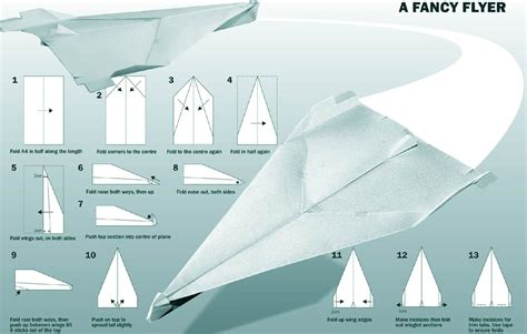 10 Ways To Make Paper Airplanes - design context how to paper plane