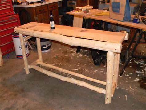 How To Make Log Furniture by Diy Woodworking Log Furniture Plans Free