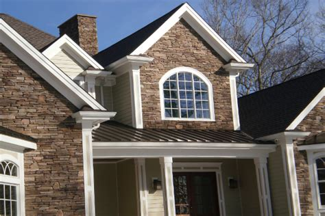 stone siding houses stone veneer cultured stone veneer better than the real thing
