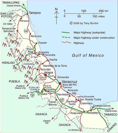 Veracruz Mexico Map by Clickable Interactive Map Of Veracruz State Mexico