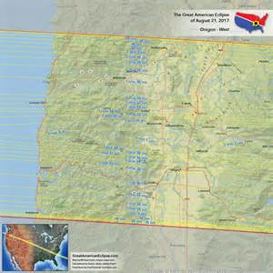 map of oregon totality oregon total solar eclipse of aug 21 2017 the great american eclipse